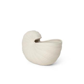 Горшик ferm LIVING 100232202 Shell Pot - Off-white