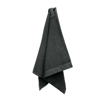 Полотенце The Organic Company  Everyday hand Towel to wrap dark grey