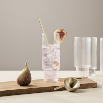 Стакан Ferm Living Ripple Long Drink glasses