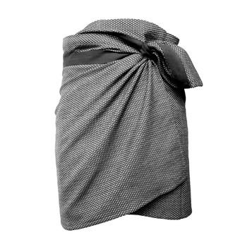 Полотенце The Organic Company Towel to wrap around you Dark grey