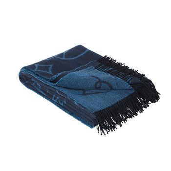 Плед Fritz Hansen Throw Blanket by Jaime Hayon, blue