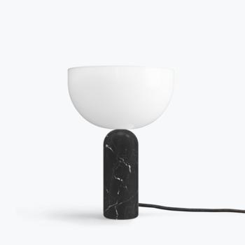 Настольная лампа New works Kizu Table Lamp, Black marble, small