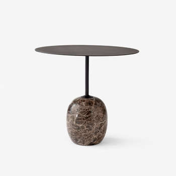 Стол &Tradition Lato Table LN9 black&dark marble