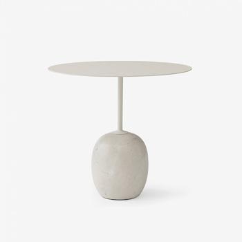 Стол &Tradition Lato Table LN9 Ivory white&crema marble
