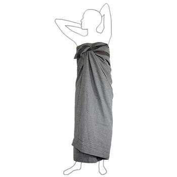 Полотенце The Organic Company Wellness Towel dark grey